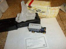 1/43 Matchbox YET04-M 1922 Scania Post BUS Stockholm Sweden MINT & CERT/BOX