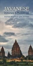 Javanese Dictionary & Phrasebook, Paperback by Nur'aini, Siti (Com), Brand Ne.