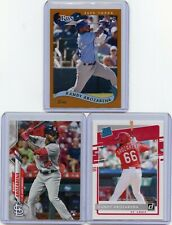 LOT OF (3) 2020 RANDY AROZARENA ROOKIE CARDS RC's, TOPPS, ARCHIVES, & DONRUSS