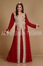 Dubái Farasha Elegante Jilbāb Jalabiya Boda Vestido Takshita para Mujer 128