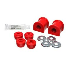 Energy Suspension 8.5136R Sway Bar Bushing Set Red Performance Polyurethane