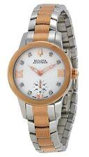 Swiss Made Bulova Accutron 65P101 Masella Diamond Accented Two-Tone Ladies Watch