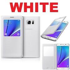Genuino Funda Plegable De Samsung S VIEW Galaxy Cubierta Del Teléfono Celular Móvil 5 NOTE Original