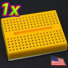 [1x] Yellow 170 Point Solderless PCB Mini BreadboardSYB-170 Adhesive Back