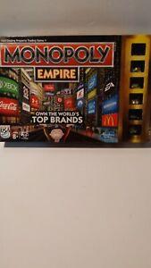 Monopoly Empire Hasbro Board Game 2013 Xbox,McDonald's,Coca-Cola 100% Complete!!