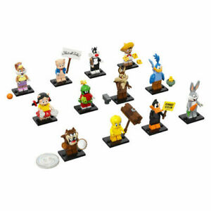 LEGO LOONEY TUNES Complete Set of 12 Collectible Minifigures 71030 Pre-order