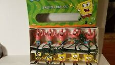 New ListingVintage SpongeBob Squarepants and Patrick Holday Light set New