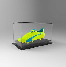 Single Boot / Shoe Display Acrylic Perspex Case - Signed Football  Boot or Shoe