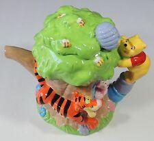 Disney Houston Harvest Winnie The Pooh Tigger Piglet Tree House Teapot EUC
