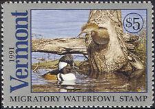VT6 Vermont State Duck Stamp MNH