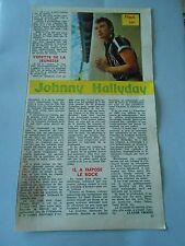 Print 1962 Flash on Johnny Hallyday Document Clipping