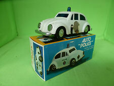 HONG KONG   VW VOLKSWAGEN  POLICE  7058  PLASTIK   - IN BOX -  WIND UP.