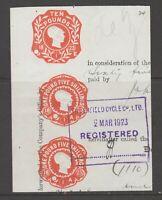 UK GB or Colonies revenue Fiscal Cinderella stamp 6-14-20-16