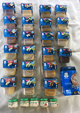 Gerber Beech Nut Baby Food Lot Fruits Vegetables Meats Oatmeal Variety Exp 2021