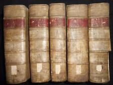 Synopsis Criticorum Aliorumque Scripturae Sacrae 1694 - Matthew Poole - 5v Set
