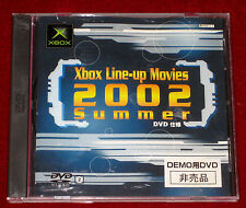 Microsoft XBOX LINE-UP MOVIES 2002 SUMMER DEMO DVD NTSC-J Japan Import Trial