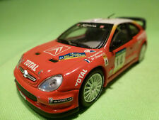 SOLIDO 1:43 -  CITROEN XSARA WRC RALLY  - RARE  - GOOD CONDITION