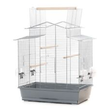 Xxl Bird Cage Budgerigar Canary With Outdoor Seating 23x15x25 5/8in