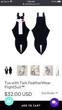 New listing Avian Fashions Tuxedo Flight Suit *Size 12*