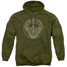 "Stargate Sg-1 ""Sg1 Distressed"" Hoodie or Long Sleeve T-Shirt"
