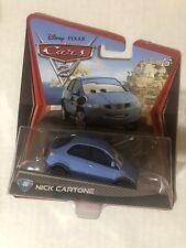 DISNEY PIXAR CARS 2 NEW NICK CARTONE #46 IMPERFECT PACKAGING SAVE 6%