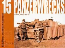PANZERWRECKS 15 Deutsche Waffen 1944-45  -Panzer-Modellbau- NEU