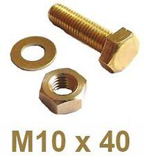 M10 10mm IN OTTONE MASSICCIO PIATTO RONDELLE formano una rondella SPESSA PER BULLONI VITI BW