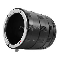 Macro Extension Tube Ring For Nikon D2 D3 D200 D300 D700 D600 D800 D90 D7100 D4