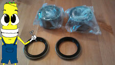 Front Wheel Hub Bearings & Seals for Nissan Datsun 300zx Z32 1990-1996 PAIR SET