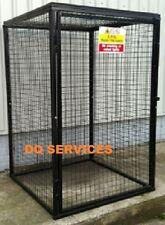 GAS CAGE, CYLINDER / BOTTLE STORAGE, MESH CAGE 1800X1200X1200, 9X47kg DQGC30