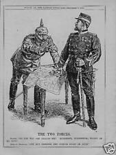 ORIGINAL 1916 HUMOROUS PRINT. KAISER & KING