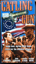 The Gatling Gun (VHS) Rare 1984 western stars Guy Stockwell, Woody Strode
