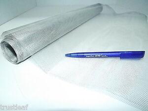 Fine Aluminium Modelling Mesh - 3m x 50cm Roll