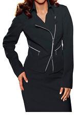 Business  Kostüm schwarz  Gr.38 CLASS Heine Rock Blazer NP100€