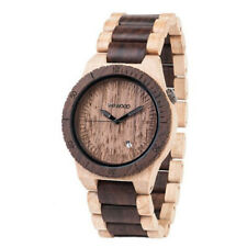 WeWood Holzuhr, WW16003 beta beige/chocolate Armbanduhr, limitiert