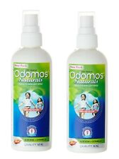 2 x 100ml Dabur Odomos Naturals Mosquito Repellent Spray