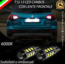 LAMPADE RETROMARCIA 13 LED T15 W16W CANBUS PER SUZUKI VITARA 6000K NO ERROR