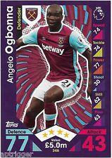 2016 / 2017 EPL Match Attax Base Card (346) Angelo OGBONNA West Ham United