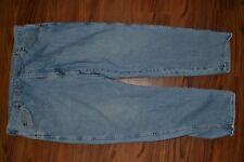 WRANGLER mens Blue Jeans Pants Men's Denim 96501AL 44x30 FREE PRIORITY AEKF