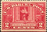 Vintage Scott #Q2 US 1913 2 Cent Parcel Post Stamp BoB