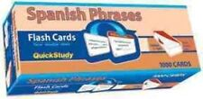 Spanish Phrases Flash Cards by BarCharts 9781423204275 (cards 2008)