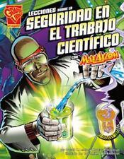 Lecciones sobre la seguridad en el trabajo científico con Max Axiom,-ExLibrary