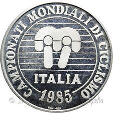 1985 Campionati mondiali ciclismo Regione veneto Medaglia argento Tiratura