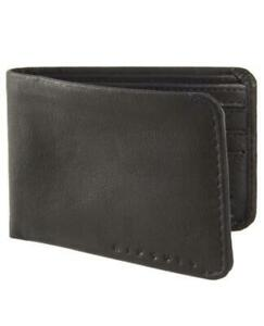 Rip Curl K-ROO ALL DAY Wallet KANGAROO LEATHER Wallet Gift New - BWLAL1 Black