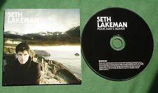 Seth Lakeman Poor Man's Heaven inc Blood Red Sky / Crimson Dawn + CD
