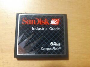 SanDisk CFCompactFlash 64mb Industrial Grade SDCFB-64-201-80 / SDCFB642018