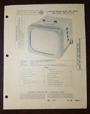 Set 356 Folder 8 Sams Photofact Rare Vintage Hotpoint