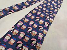MAD DOGS & ENGLISHMEN SOUTH PARK MENS TIE SILK COLORFUL 1998 KENNY STAN