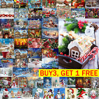 5D DIY Full Drill  Merry Christmas Diamond Painting Art Cross Stitch Kit  Decor