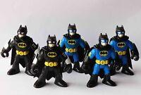 """Imaginext Fisher-Price Hero DC Super Friends Batman BLACK blue Action Figure 3"""""""